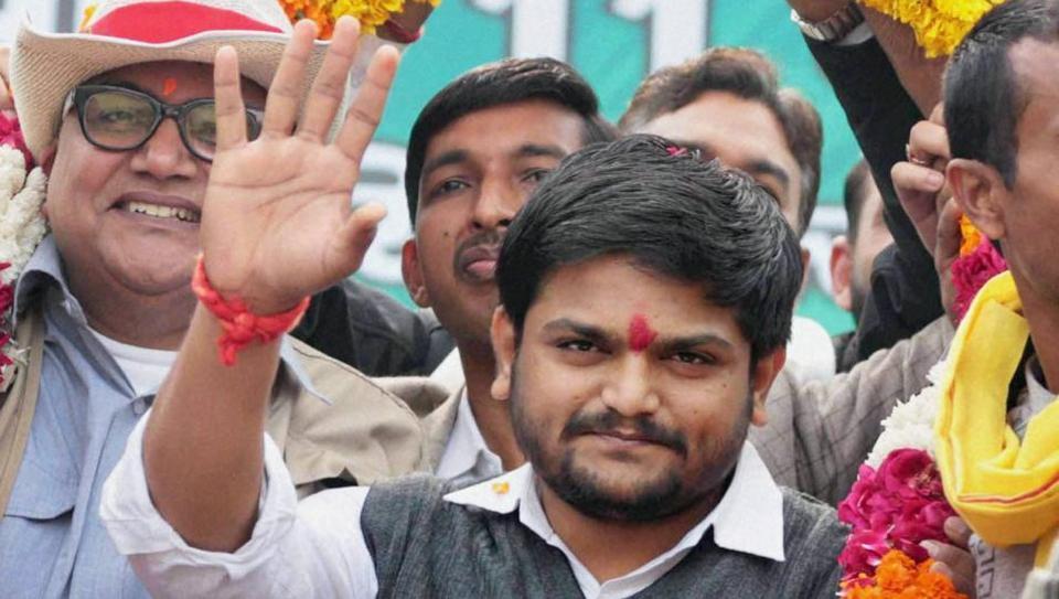 Hardik Patel,Jaipur,Patel quota stir