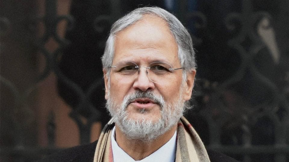 Delhi lieutenant governor Najeeb Jung comes out of PMO after a meeting with Prime Minister Narendra Modi in New Delhi on Friday.