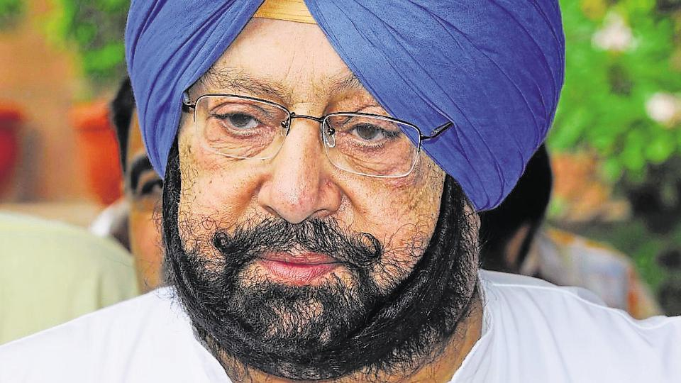 Punjab Congress chief Captain Amarinder Singh.