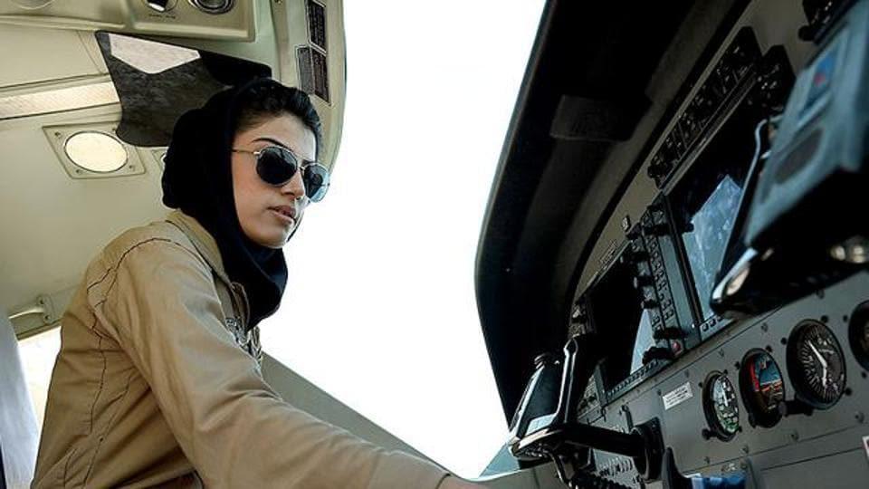 Afghan female pilot,Niloofar Rahmani,Khaama Press