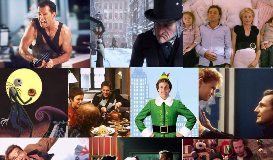 So, who's up for a festive movie marathon on Christmas ...