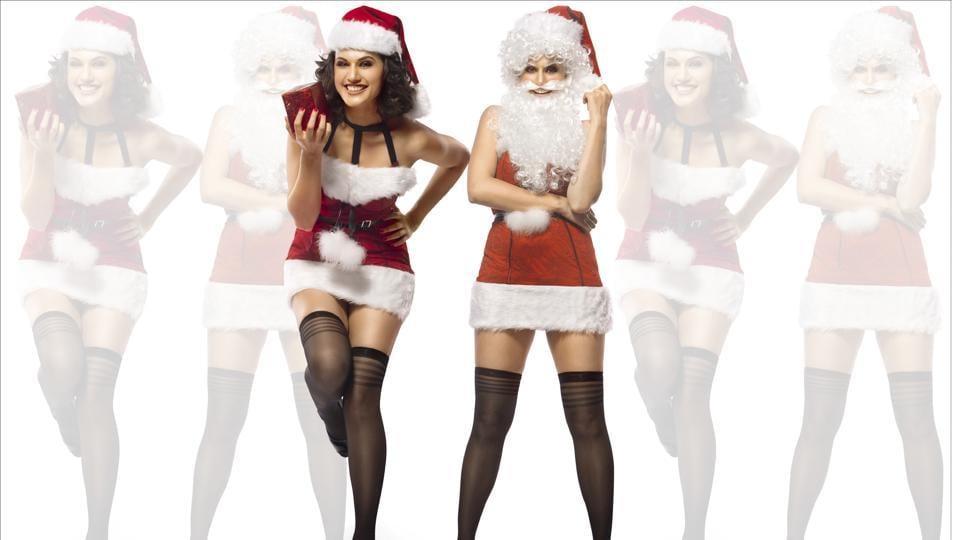 Secret Sexy Santa,Taapsee Pannu,Santa's sag