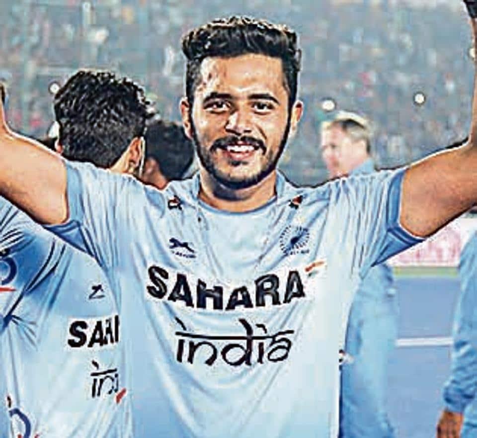 Harmanpreet Singh scored three goals in six matches as India won the Junior Hockey World Cup.