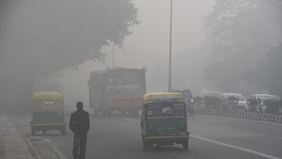 Delhi pollution,Delhi weather,smog