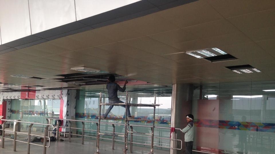 CISF,Delhi airport,T2