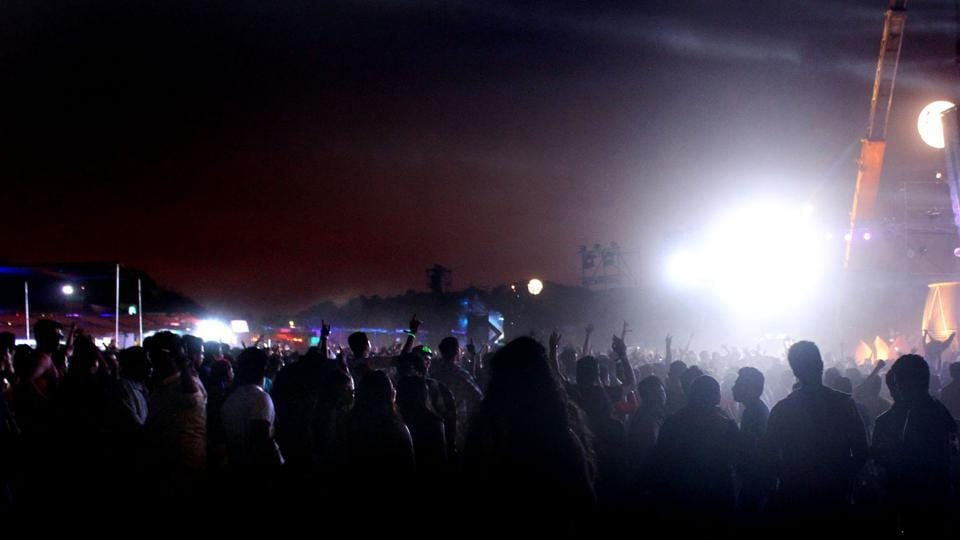 The Sunburn festival was held in Goa for nine years with a yearly participation of around 4.5 lakh people.