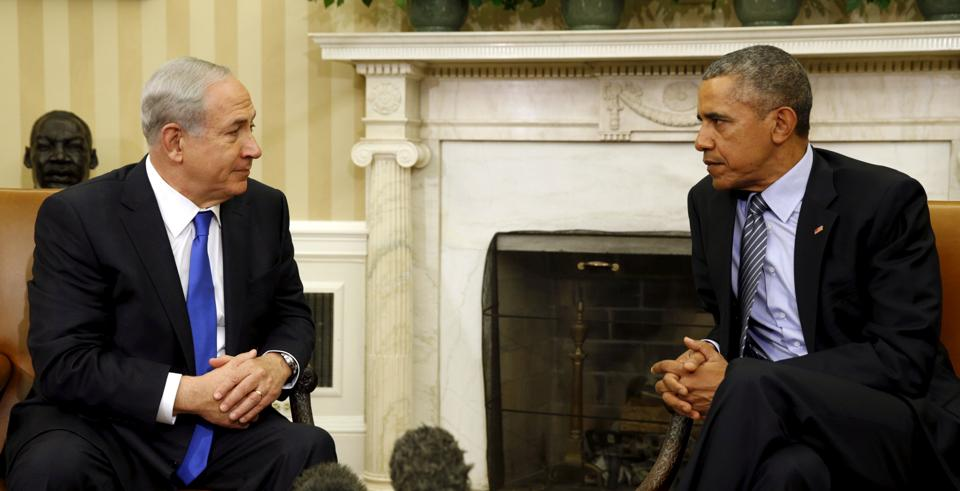 US President Barack Obama's administration has shared a fractious relationship with Israeli Prime Minister Benjamin Netanyahu.