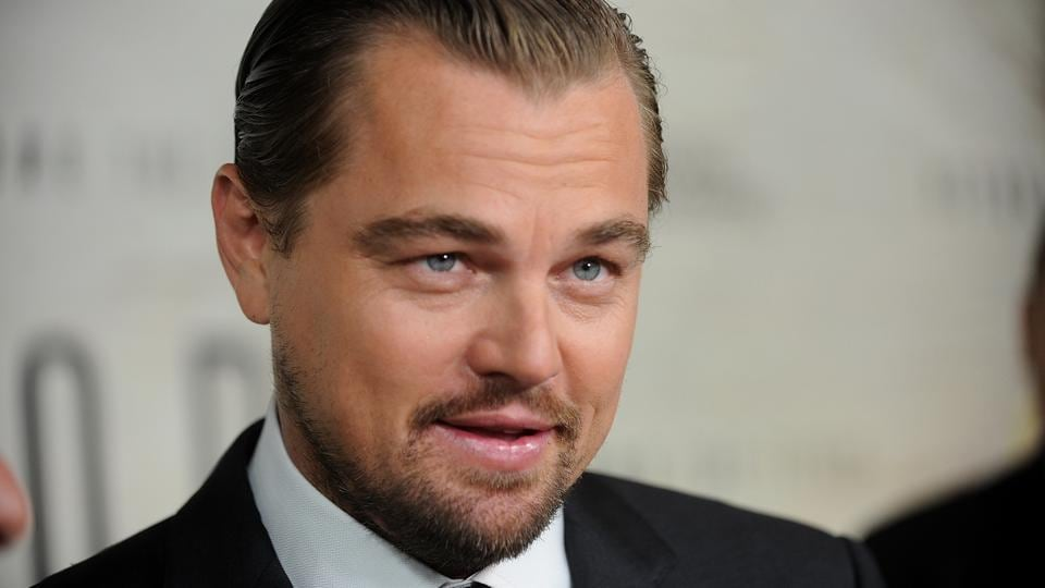 Leonardo Dicaprio attends the premiere of National Geographic Channel's Before The Flood, at the United Nations.
