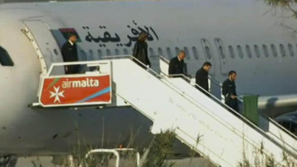 Malta,Plane Hijack,Malta PM