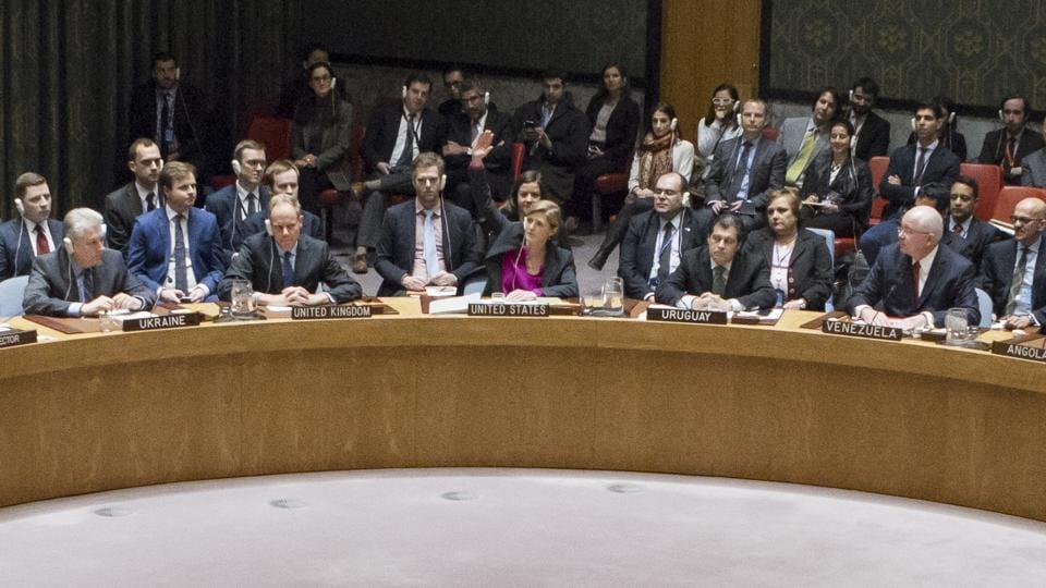 UNSC vote,Israel settlements,israle Palestine
