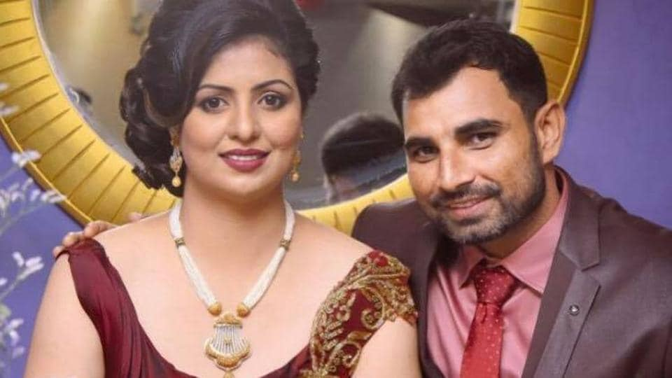 Mohammed Shami, was trolled after posting this picture with wife Hasin Jahan on his official Facebook page. Nasty comments were made that her dress was not in keeping with their religion.