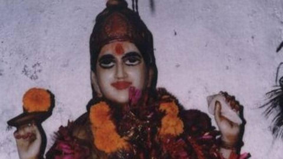 The deity of Machhendra Devta, an avatar of Lord Vishnu.