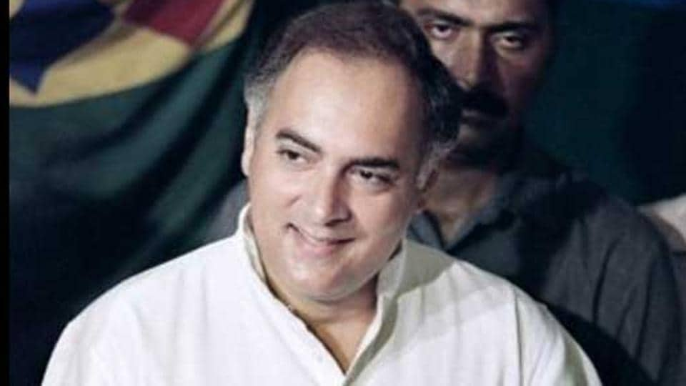 File photo of former PMRajiv Gandhi, who was assassinated during an election rally in Tamil Nadu, in 1991.