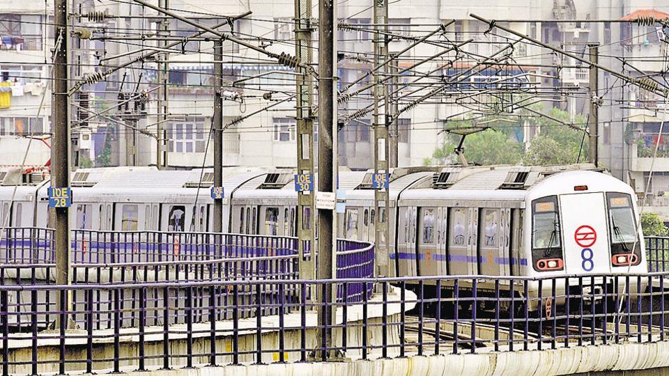 Blue Line,Delhi Metro,DMRC