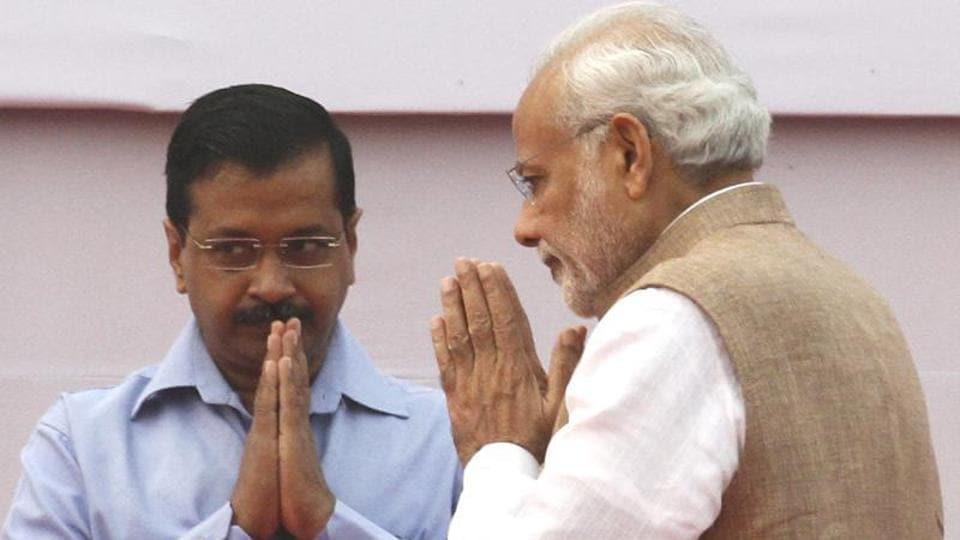 Najeeb Jung,Narendra Modi,Arvind Kejriwal