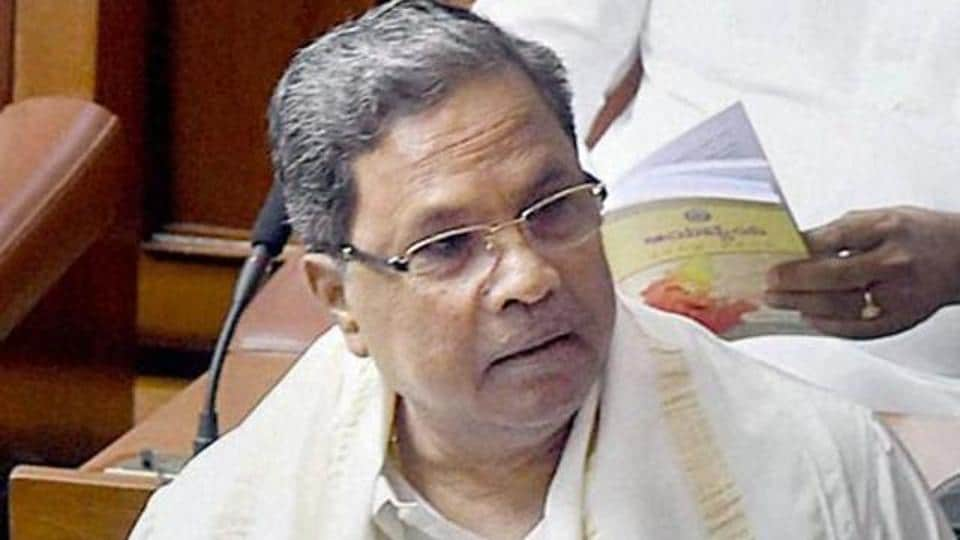 Karnataka CM Siddaramaiah was embroiled in another controversy after a video showed a man tying his shoelaces.