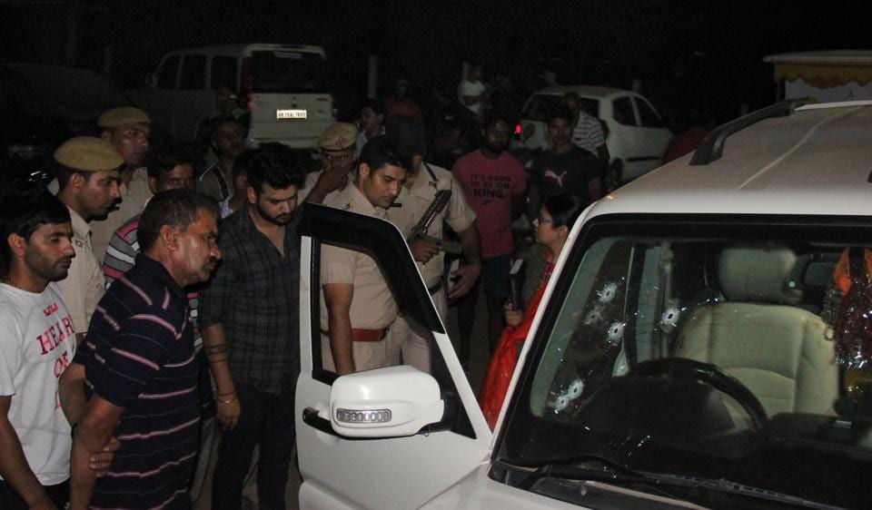 On September 21, Mahesh 'Attack' was shot dead outside his real estate firm office near Jharsa Chowk.