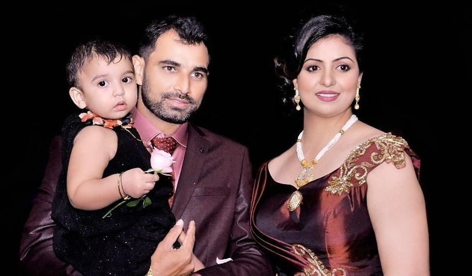 Mohammed Shami, was trolled after posting this picture with wife Hasin Jahan on his official Facebook page.