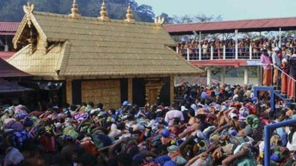 There are restrictions for the entry of women between 10-50 years of age in the Sabarimala temple.