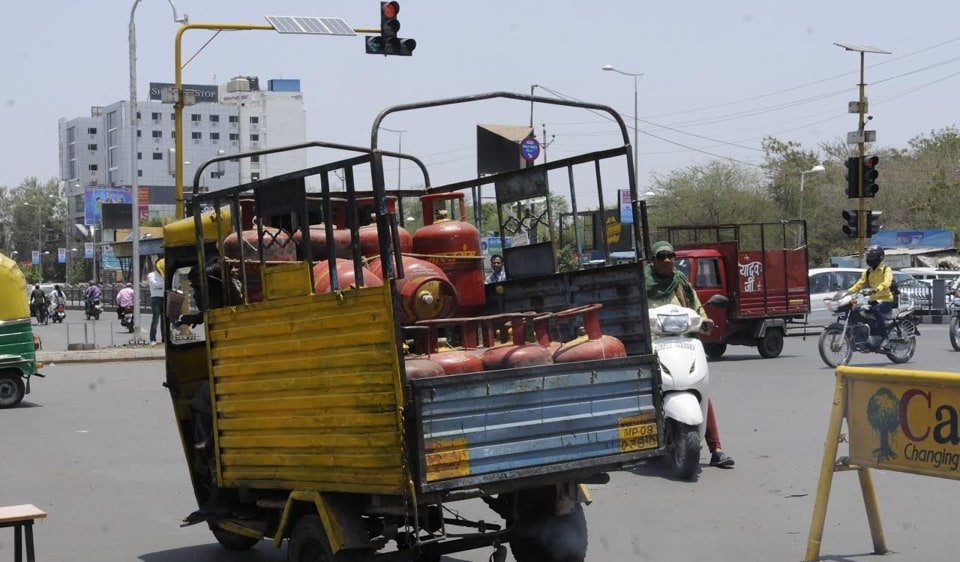 Madhya Pradesh,Indore,LPG consumers