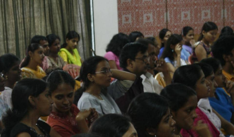 Several colleges have started grooming their final-year students in personality development.