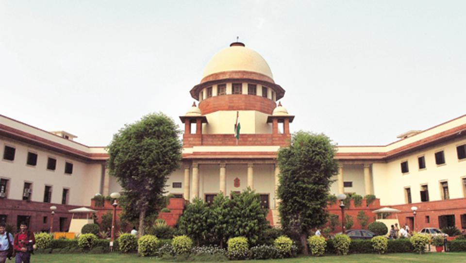 Supreme Court, in New Delhi on Tuesday. Photograph: Sunil Saxena, Hindustan Times