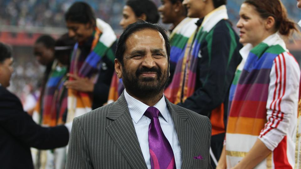 Former Indian Olympic Association chief Suresh Kalmadi, seen here during the 2010 Commonwealth Games organised in New Delhi,  has been named the national body's honorary life president.