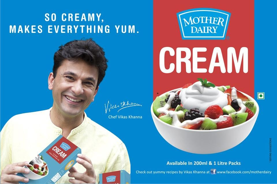 Mother Dairy Cream is so creamy it makes everything yum