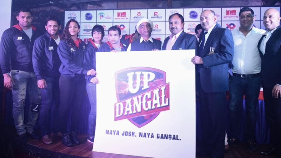 The UP franchise in the pro wrestling league has Geeta Phogat and Babita Phogat in their ranks, on whose lives Amir Khan's Dangal is based