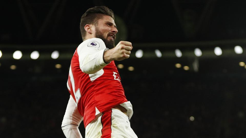 Olivier Giroud's goal was the difference in Arsenal securing a hard-fought win over West Bromwich Albion F.C. 1-0
