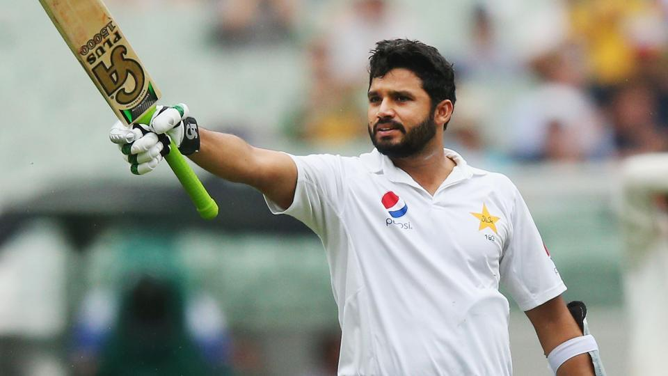 Azhar Ali smashed his 12th Test century and he became the fifth Pakistan batsmen to go past 1000 runs in Tests in a calendar year.