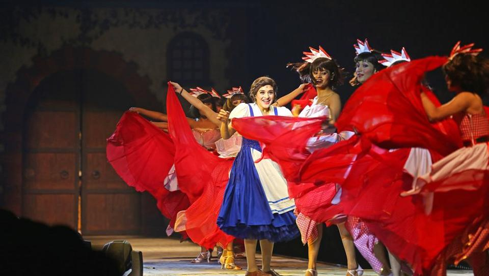 Disney's Beauty And The Beast - the first Broadway-style musical to be staged in India - was a big hit among audiences in Delhi and Mumbai.