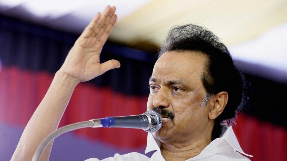DMK leaders MK Stalin.