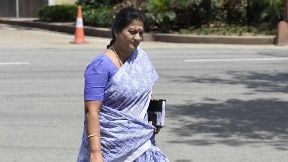 Sasikala Pushpa was expelled from the AIADMK but she did not resign from the Rajya Sabha.