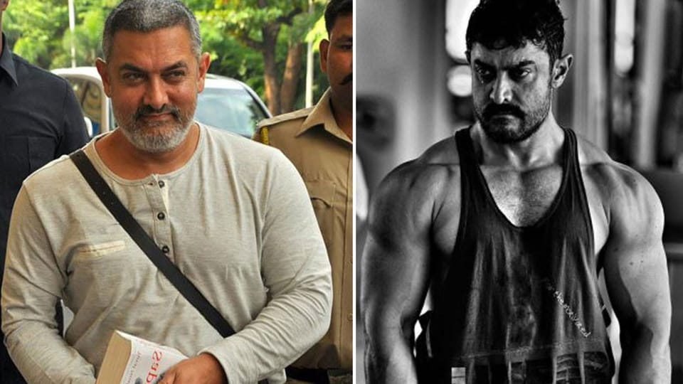 Aamir Khan gained weight and weighed 90kg for his role in Dangal. He also got back in shape for another part of the film.