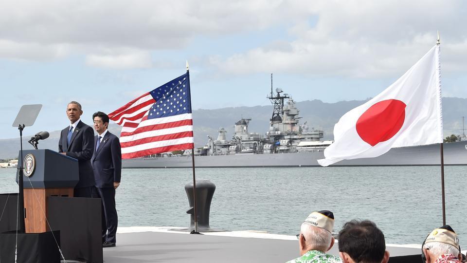 Pearl Harbor,Shinzo Abe,Barack Obama