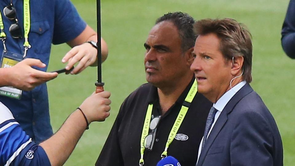 "Mark Nicholas was once again taken to hospital after complaining of ""abdominal pains"" during the third day of the Melbourne Test between Australia vs Pakistan."