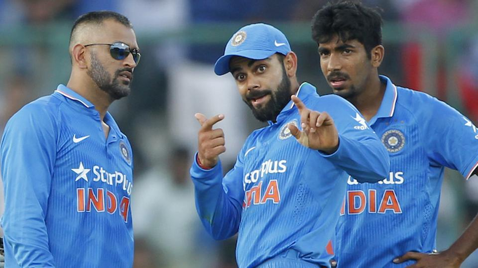 Virat Kohli and Jasprit Bumrah will be key members in MS Dhoni's Indian ODI and T20 teams for the series against England next year.