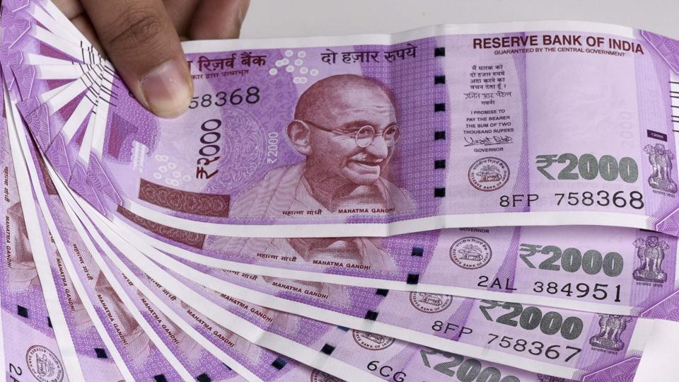 Dakor police in Kheda district on Wednesday detained four persons for possessing Rs 12.45 lakh in cash of which Rs 12.08 lakh were in the denomination of Rs 2,000 notes, police said.