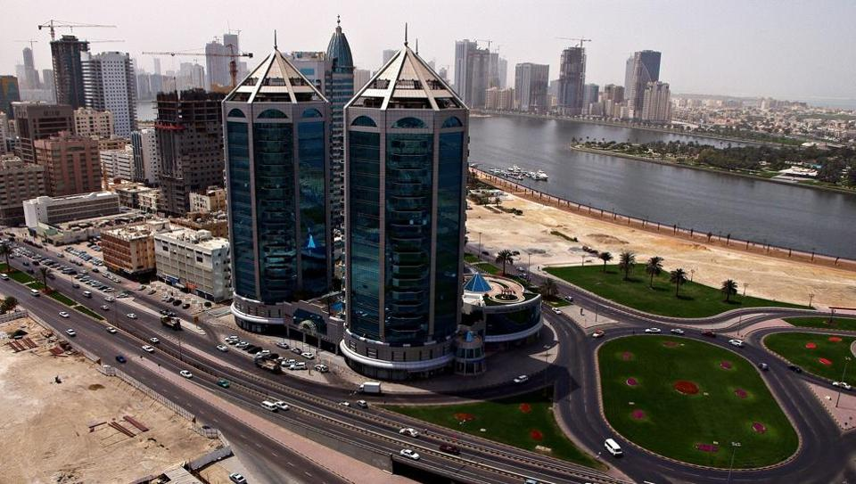 UAE,Sharjah,Man fall from high rise building