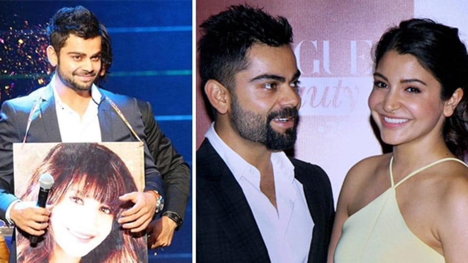 Remarkable Virat Kohli Pours Water Over Engagement With Lady Love Anushka Hairstyle Inspiration Daily Dogsangcom