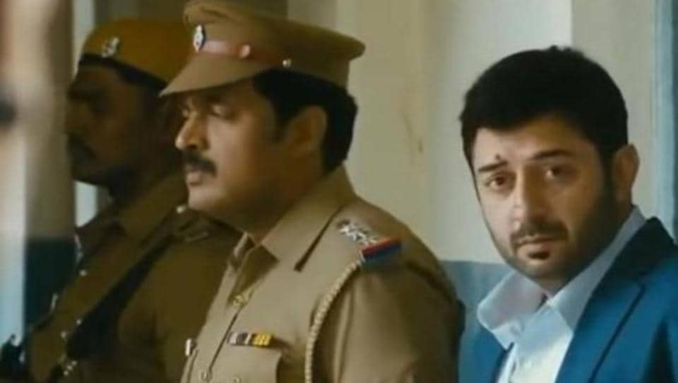 Arvind Swami played a villain in Thani Oruvan.