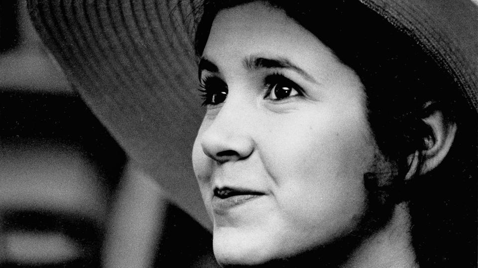 This May 2, 1973 file photo shows Carrie Fisher, the 16-year-old daughter of Debbie Reynolds and Eddie Fisher, in New York.  (Jerry Mosey/AP File Photo)