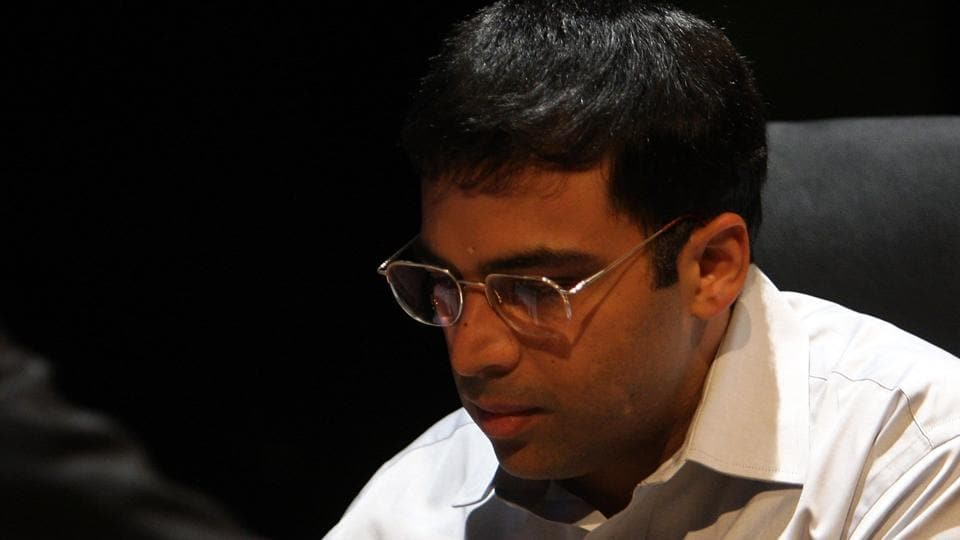 Viswanathan Anand finished 16th in the World Rapid championships in Doha as another Indian player,  Vidit Santosh Gujrathi, ended up in eighth position.