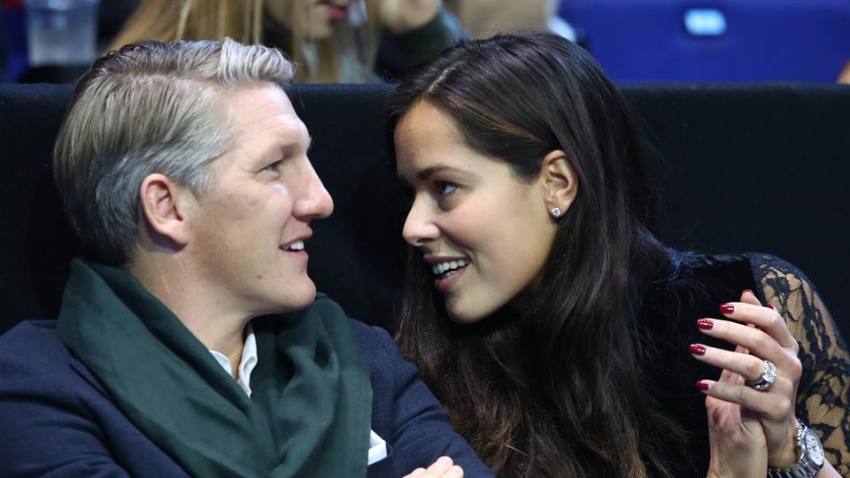 Ana Ivanovic , who got hitched to Manchester United footballer Bastian Schweinsteiger  earlier this year, has also had several high-profile relationships with sportspersons