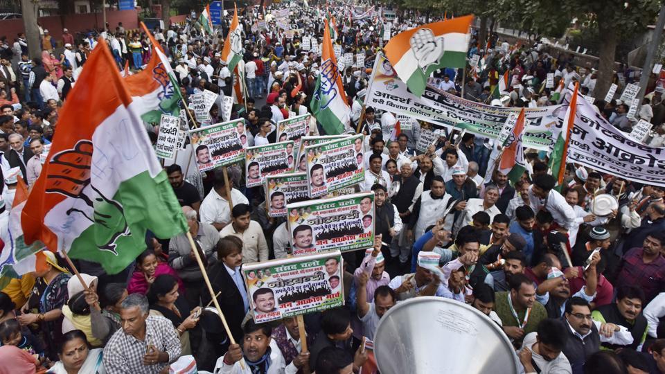 Demonetisation,Congress,Randeep Surjewala