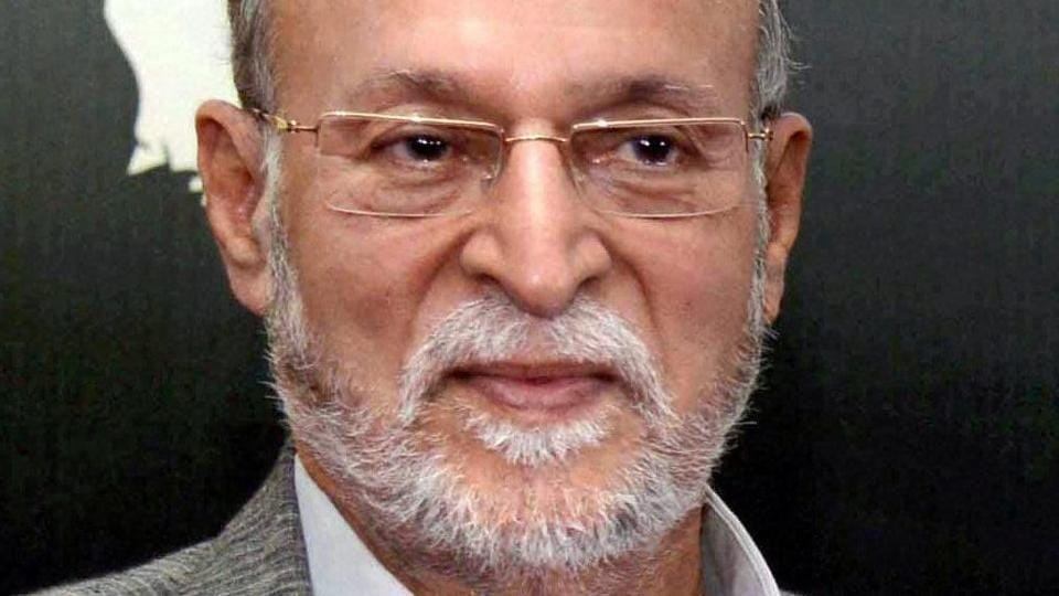 Anil Baijal who has been appointed as the new Lt Governor of Delhi.
