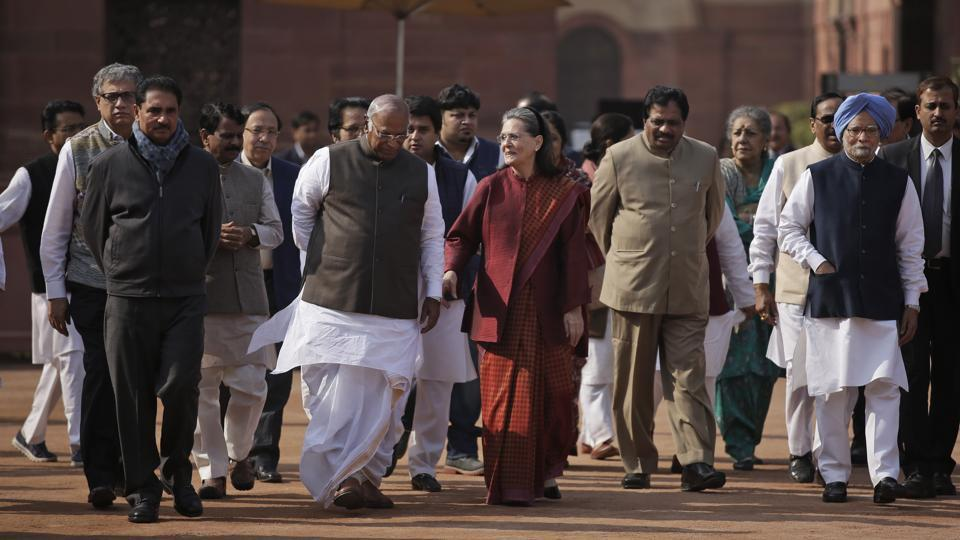 Opposition parties against NDA