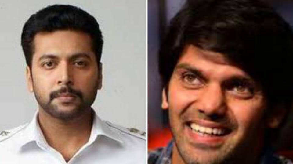 Sanghamitra will star Jayam Ravi and Arya.