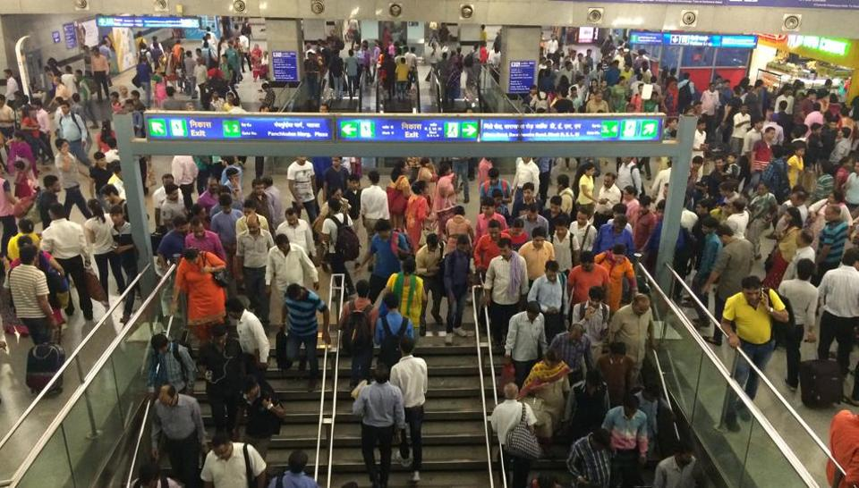 All exit gates of the Rajiv Chowk Metro Station will be closed on the evening of December 31, 2016, as a part of security measures for New Year's eve.